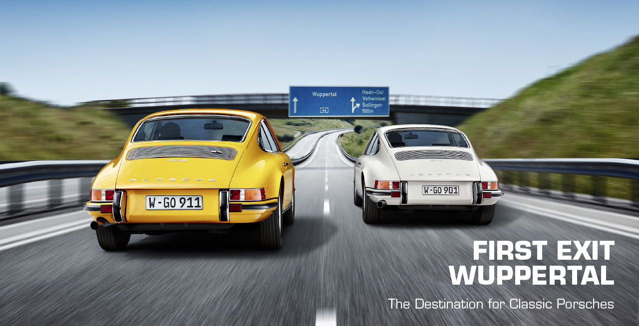 First Exit Wuppertal The Destination for Classic Porsches